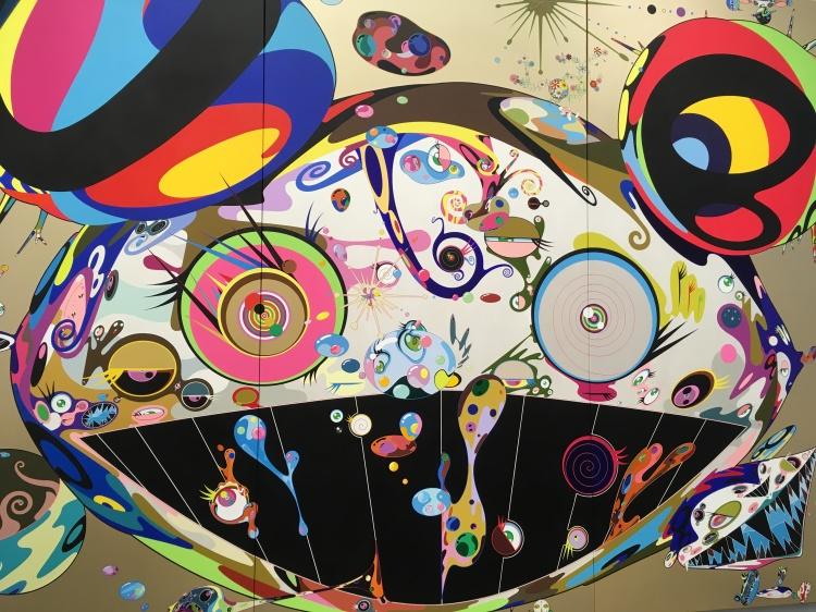 """""""Tan Tan Bo"""" by Takashi Murakami"""