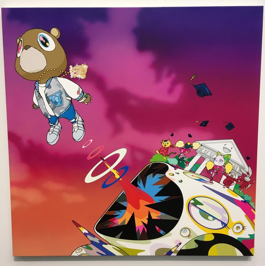 "Takashi Murakami's art for Kanye West's ""Graduation"" album"