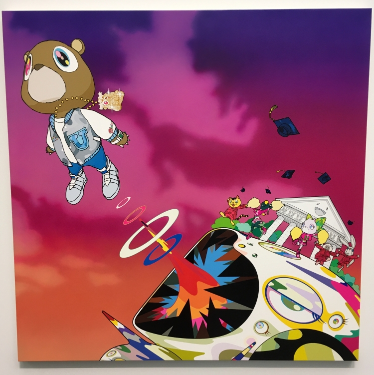 "Takashi Murakami's art for Kanye West's ""Graduation"" album"
